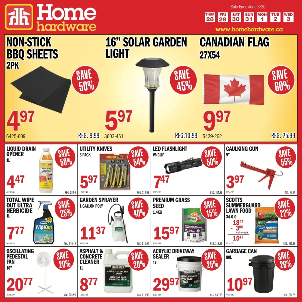 Weekly In-store Specials